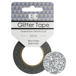 Best Creation Inc - Glitter Tape - Silver