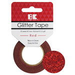 Best Creation Inc - Glitter Tape - Red