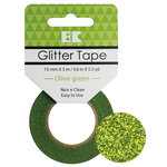 Best Creation Inc - Glitter Tape - Olive Green