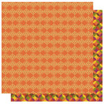 Best Creation Inc - Hello Fall Collection - 12 x 12 Double Sided Glitter Paper - Shades of Autumn