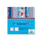 Best Creation Inc - I Love America Collection - 6 x 6 Paper Pad