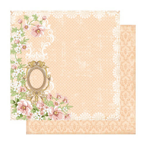 Best Creation Inc - A Little Dream Collection - 12 x 12 Double Sided Glitter Paper - Faith