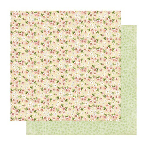 Best Creation Inc - A Little Dream Collection - 12 x 12 Double Sided Glitter Paper - Hope