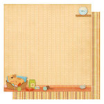 Best Creation Inc - Meow Collection - 12 x 12 Double Sided Glitter Paper - Cat Nap Time