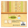 Best Creation Inc - Meow Collection - 6 x 6 Glittered Paper Pad