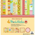 Best Creation Inc - Mom's Kitchen Collection - 12 x 12 Glittered Collection Kit