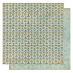 Best Creation Inc - Ocean Breeze Collection - 12 x 12 Double Sided Glitter Paper - Sailor