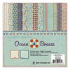 Best Creation Inc - Ocean Breeze Collection - 6 x 6 Glittered Paper Pad