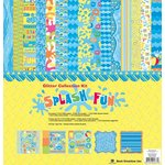 Best Creation Inc - Splash Fun Collection - 12 x 12 Glittered Collection Kit