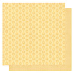 Best Creation Inc - Sew Pretty Collection - 12 x 12 Double Sided Glitter Paper - Buttons and Scissors