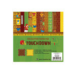 Best Creation Inc - Touchdown Collection - 6 x 6 Glittered Paper Pad