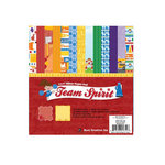 Best Creation Inc - Team Spirit Collection - 6 x 6 Glittered Paper Pad