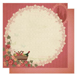 Best Creation Inc - Vintage Story Collection - 12 x 12 Double Sided Glitter Paper - Wonderland