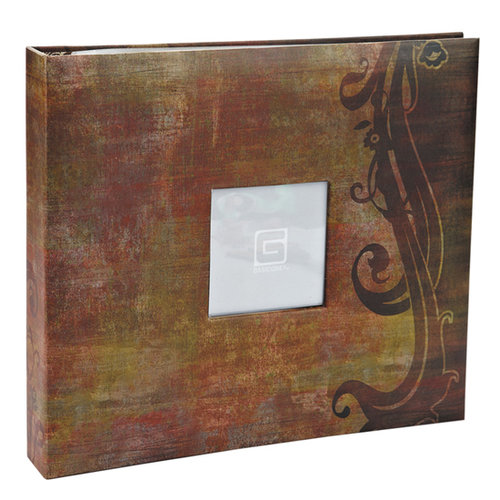 BasicGrey - Basics Collection - 12 x 12 Album - Brown