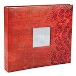 BasicGrey - Basics Collection - 12 x 12 Album - Red