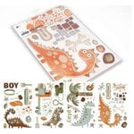 BasicGrey - Archaic Collection - Chipboard Sticker Shapes