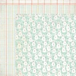 BasicGrey - Aspen Frost Collection - Christmas - 12 x 12 Double Sided Paper - Oh What Fun