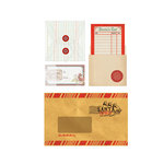 BasicGrey - Aspen Frost Collection - Christmas - Mini Envelopes
