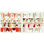 BasicGrey - Aspen Frost Collection - Christmas - Stitched Garland