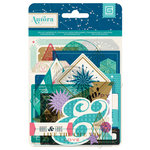 BasicGrey - Aurora Collection - Die Cut Cardstock and Transparency Pieces