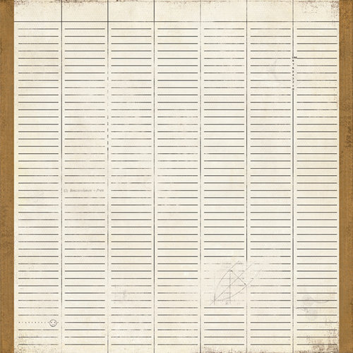 BasicGrey - Basic Manila Collection - 12 x 12 Paper - Brief, CLEARANCE