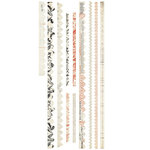 BasicGrey - Basic Manila Collection - Cardstock Stickers - Trims