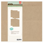BasicGrey - Capture Collection - Kraft Album - 8 x 8 Ring Binder