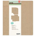 BasicGrey - Capture Collection - Kraft Album - 7 x 9 Ring Binder