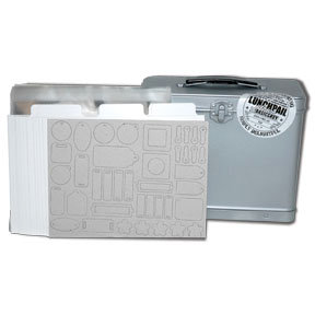 Basic Grey Lunch Pail Album Kit, CLEARANCE