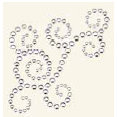 BasicGrey - Bling It Collection - Rhinestones - Designer Swirl - Diamond