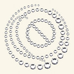 BasicGrey - Bling It Collection - Rhinestones - Circle It - Diamond, CLEARANCE