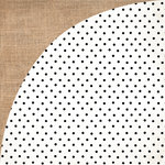 BasicGrey - Barista Collection - 12 x 12 Double Sided Paper - Mocha
