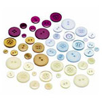 BasicGrey - Wisteria Collection - Buttons
