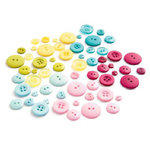 BasicGrey - Lemonade Collection - Buttons, CLEARANCE