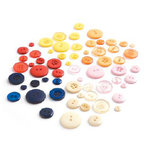 BasicGrey - June Bug Collection - Buttons, CLEARANCE