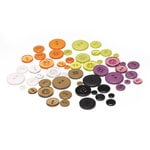 BasicGrey - Eerie Collection - Halloween - Buttons, CLEARANCE