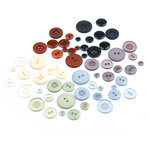 BasicGrey - Cappella Collection - Buttons, CLEARANCE