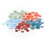 BasicGrey - Oxford Collection - Buttons