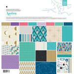 BasicGrey - Aurora Collection - 12 x 12 Collection Pack