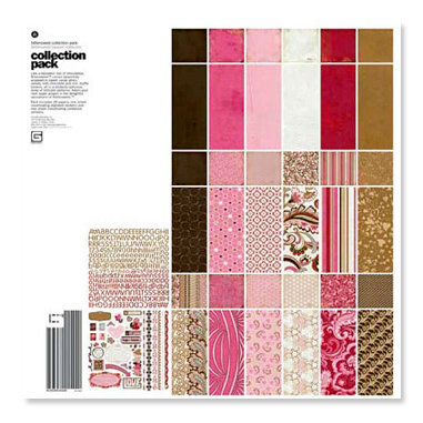 BasicGrey - Bittersweet Collection - 12 x 12 Collection Pack