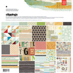 BasicGrey - Clippings Collection - 12 x 12 Collection Pack