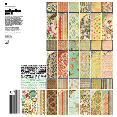 BasicGrey - Curio Collection - 12 x 12 Collection Pack