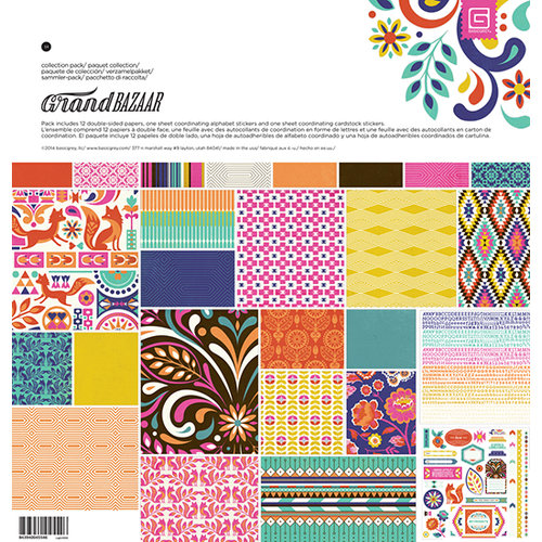 BasicGrey - Grand Bazaar Collection - 12 x 12 Collection Pack