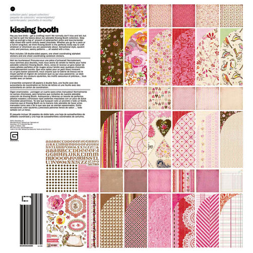 BasicGrey - Kissing Booth Collection - 12 x 12 Collection Pack