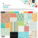 BasicGrey - Knee Highs and Bow Ties Collection - 12 x 12 Collection Pack - Bow Ties