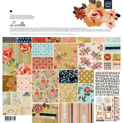 BasicGrey - Lucille Collection - 12 x 12 Collection Pack