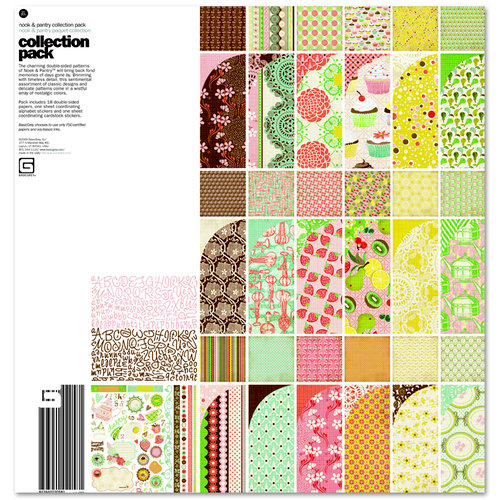 BasicGrey - Nook and Pantry Collection - 12 x 12 Collection Pack