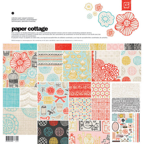 BasicGrey - Paper Cottage Collection - 12 x 12 Collection Pack