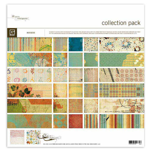 BasicGrey - Recess Collection - 12 x 12 Collection Pack