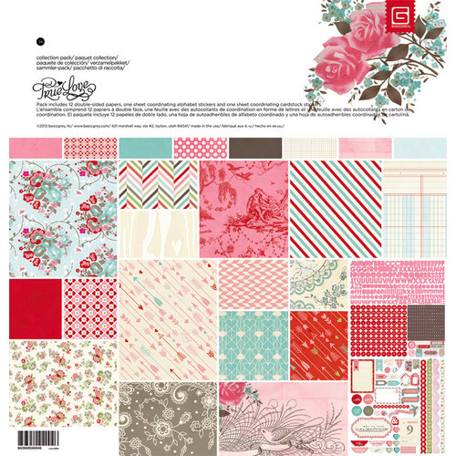 BasicGrey - True Love Collection - 12 x 12 Collection Pack
